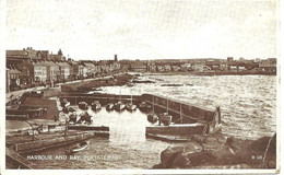 HARBOUR AND BAY - PORTSTEWART - POSTALLY USED 1947 - Londonderry