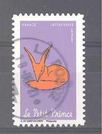 France Autoadhésif Oblitéré (75 Ans Le Petit Prince N°3) (cachet Rond) - Oblitérés