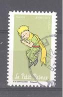 France Autoadhésif Oblitéré (75 Ans Le Petit Prince N°9) (cachet Rond) - Oblitérés