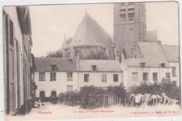 Vilvoorde - Hoek Van Het Oud Begijnhof (Exelsior) (gelopen Kaart Van Voor 1900 Zonder Zegels) - Vilvoorde