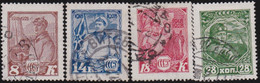 Russia   .  Michel    .   354/357    .  (1928)        .   O    .      Cancelled    .   /  .   Gestempelt - Used Stamps