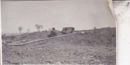 14-18 Secteur De  SCHIEPERHUIS Poste De Combat Pour Mitrailleuses 1915 Ysez Photo Format Environ 4,5 Cm X 12 Cm - Guerra, Militares
