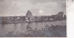 14-18 SCHIEPERHUIS Détruit Avant La Construction Du Poste 1915 Photo Format Environ 4,5 Cm X 12 Cm - Guerra, Militares