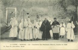48*Lozère* - Mende - Confrérie Des Pénitents Blancs, Fondée En 1626 - Mende