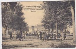 Vilvoorde - Nieuwe Boulevard En Tyndale Monument (gelopen Kaart Met Zegels) - Vilvoorde