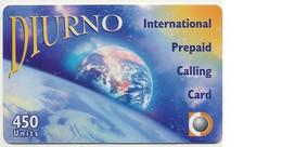 Scheda Carta Telefonica Internazionale Prepagata DIURNO, 450 UNITS, Usata, Scadenza 30/09/99 - Unclassified