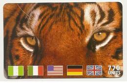 Scheda Carta Telefonica Internazionale MCI WORLDCOM Prepagata 20.000 Lire, 770 UNITS, Usata. - Unclassified