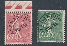 ED-2: FRANCE: Lot Avec Préo** N°48/49 - 1893-1947