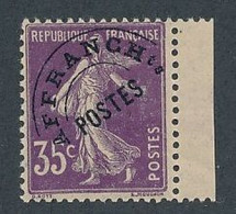ED-5: FRANCE: Lot Avec Préo** N°62 - 1893-1947