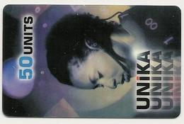 Scheda Internazionale UNIKA, 50 Units, Usata. - Unclassified