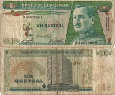 Guatemala / 1 Quetzal / 1983 / P-66(a) / FI - Guatemala