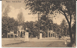 Cpa SUMATRA - MEDAN / Hotel De Boer . Cachet Perboaengan . - Indonesia