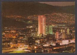115340/ MEDELLIN, Panoramica De La Ciudad, Edificio Del Banco Cafetero - Colombia
