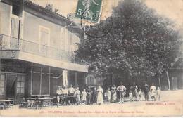 26 - TULETTE : Café De La Poste Et Bureau De Tabac ( Bon Plan Animé ) CPA Village ( 1.960 H ) - Drôme - Autres Communes