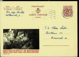 Publibel Obl. N° 1869  ( Grottes De Han Et De Rochefort) Obl. 1962 - Publibels
