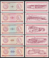Kuba - Cuba 1-20 Peso Foreign Exchange Certificates 1985 Pick FX1-FX5 VF-UNC - Andere - Amerika