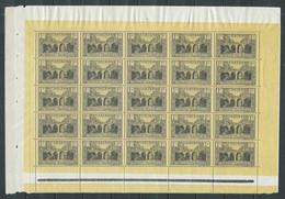 Monaco Feuille Entière YT N°95 Viaduc De Sainte-Dévote Neuf ** - Unused Stamps