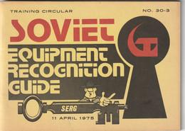 SOVIET EQUIPMENT RECOGNITION GUIDE 1975 - Estados Unidos