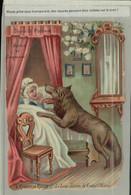 Chromo Découpi Chocolat Poulain Chaperon Rouge- Le Loup Dévore La Grand'mère (  (2021-Septembre-2 -19 - Poulain