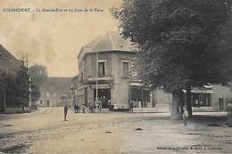 25)   AUDINCOURT  -  La Grande Rue Et Un Coin De La Place - Autres Communes