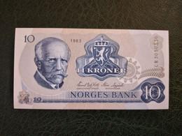 NORWAY 10 KRONER 1983 UNC  D-0695 - Norway