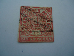 GERMANY USED STAMPS WITH POSTMARK  OVERPINT - Ohne Zuordnung