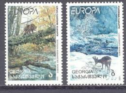 1999. Georgia, Europa 1999, 2v, Mint/** - Georgia