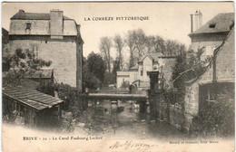 3YO 337 CPA - BRIVE - LE CANAL FAUBOURG LECLERC - Brive La Gaillarde