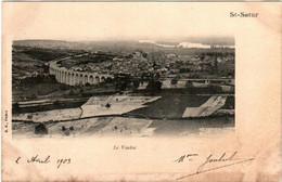 31ni 241 CPA - SAINT SATUR - LE VIADUC - Saint-Satur