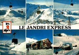 Les Deux Alpes Le Jandri Express 1987  CPM Ou CPSM - Non Classés