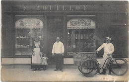 58 . CERCY-LA-TOUR  --  CARTE PHOTO Magasin Confiserie Maison F . BOUILLOT - Da Identificare