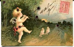 CPA - Carte Postale - Fantaisie - Ange Musicien - 1907 ( MO18105) - Angels