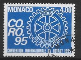 MONACO 1994 Yv 1973 Obli - - Used Stamps