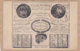 1870 1871 Souvenir Historique Déclaration De Guerre - Other Wars
