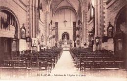 53 - Mayenne -  LAVAL -  Interieur De L église Saint Pierre - Laval