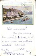 Artiste CPA Montreux Kanton Waadt Schweiz, Grand Hotel Excelsior - VD Vaud