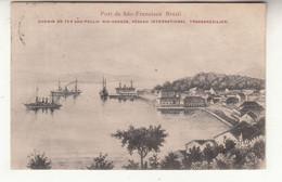 Brésil - Port De São-francisco - Chemin-de-fer São-paulo - Rio-grande - Réseau International Transbrésilien R - Other