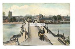 Putney Bridge - 1906 Used London Postcard - Altri