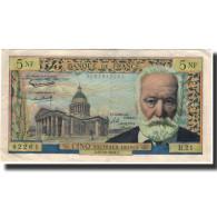 France, 5 Nouveaux Francs, Victor Hugo, 1959, 1959-10-15, TTB, Fayette:56.3 - 5 NF 1959-1965 ''Victor Hugo''