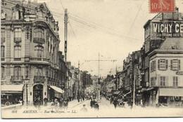 AMIENS Rue Des Noyon Commerces Animée RV - Amiens