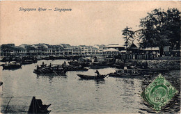 Singapore - Singapore River - Singapore