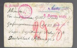 Lsc Vierset-Barse 5 9 40 => Stalag 1 A Recherche De Camps ( Voir Scan ) - Lettere