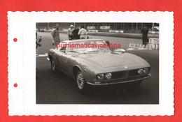 Auto FERRARI GT Cars Auto Original Photo Autodromo Monza 1970 Vehicles Wagen Voitures - Automobili