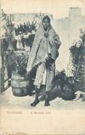 ETR 2 CPA  TANGIER A Moorish Girl  Liquidation Du Stock  Voir Scan Recto Verso - Tanger