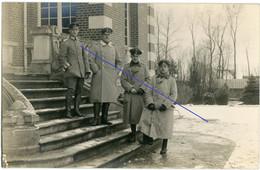 Allemande Carte Photo - Deutsche Soldaten Offiziere Chateau ? Rittmeister Graf Von Matarika ? Bromberg?  WWI 14/18 - 1914-18