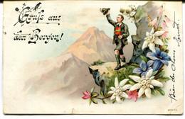 CPA - Carte Postale - Suisse - Gruss Aus Den Bergen! - 1906 ( MO18122) - Other