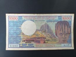 CAMEROUN 1000 FRANCS 1978 - Cameroon