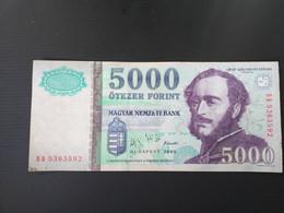 HONGRIE 5000 FORINT 2005 - Hungary