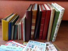 Karton Mit Resten Eines Nachlasses - Ein Großes Sammelsurium Aus Aller Welt - Collections (en Albums)