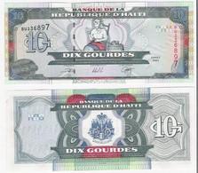 Haiti 10 Gourdes 2000 P 265 UNC - Guyana